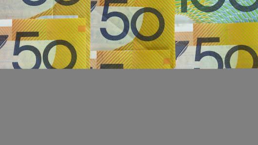 Premium Australian dollars