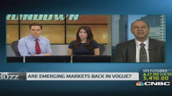 Are emerging markets making a comeback?