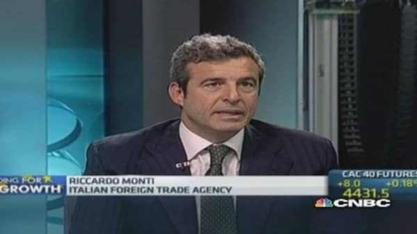 Investors coming back to Italy: Trade body