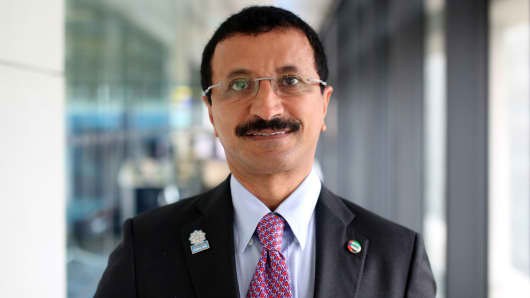 Sultan Ahmed Bin Sulayem, chairman of DP World