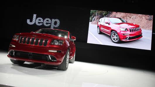 2012 Jeep Grand Cherokee.