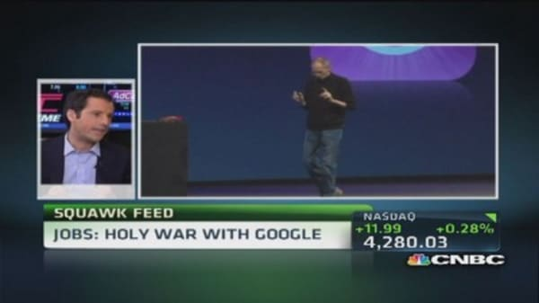 Apple's 'holy war' with Google