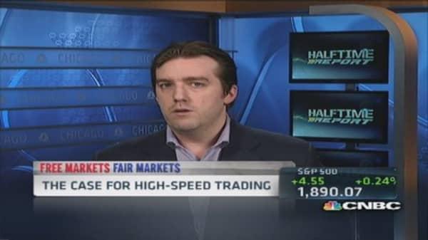 HFT good for investors: Pro