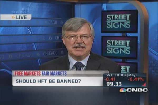 HFT is highly efficient: Pro