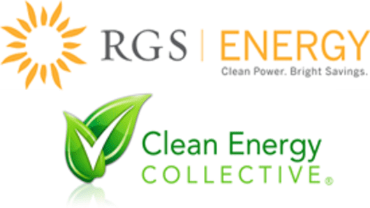 RGS Energy and Clean Energy Collective logo