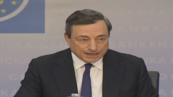 ECB will act 'swiftly' if needed: Draghi