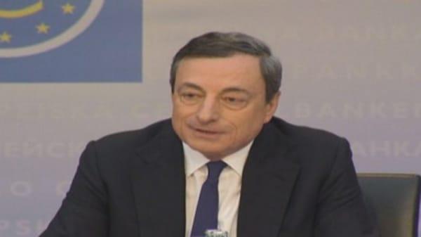 Draghi hits back at IMF