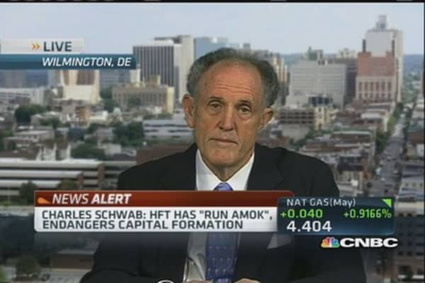 HFT allegations disturbing: Kaufman