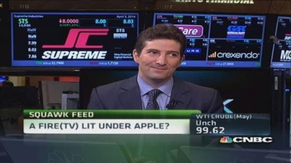 A Fire (TV) lit under Apple?