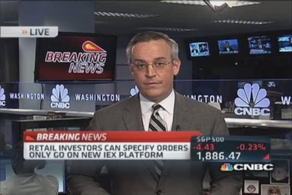 Interactive Brokers direct customers to IEX
