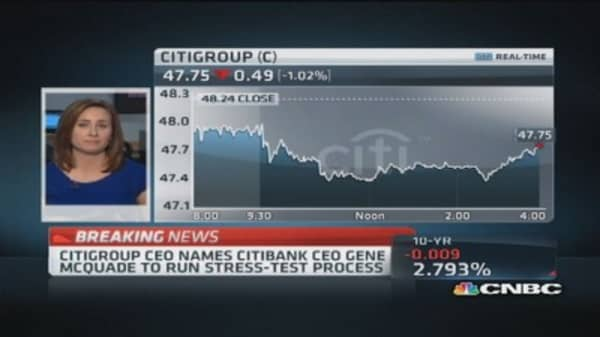 Citi CEO issues memo on Fed rejection