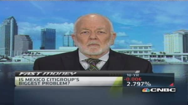 Citi criminal probe tip of iceberg: Bove