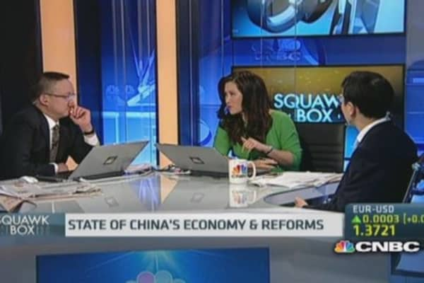 China's stimulus 'not for real': Economist
