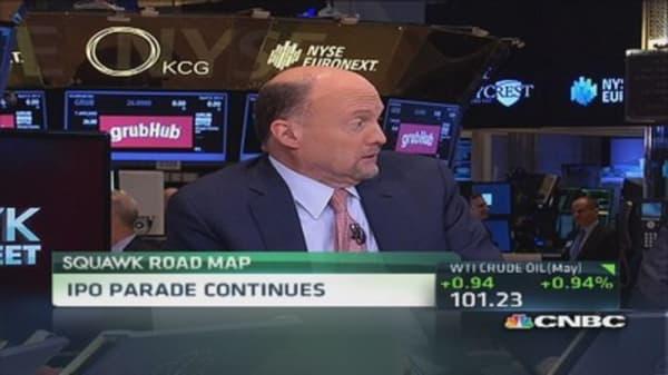 Cramer rains on IPO parade