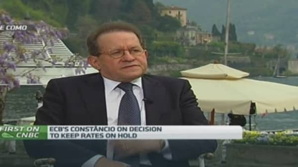 ECB prepared to use QE if needed: Constancio