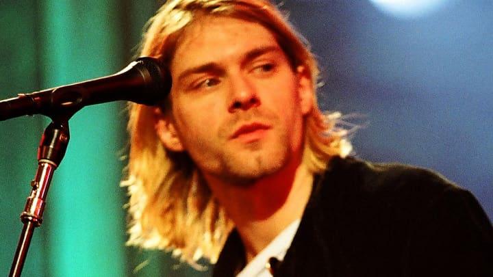 Kurt Cobain of Nirvana in 1993