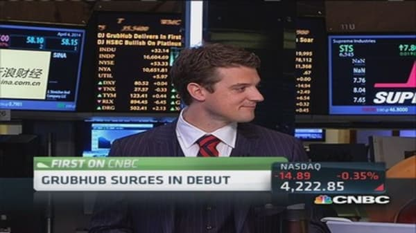 GrubHub CEO eyes growth