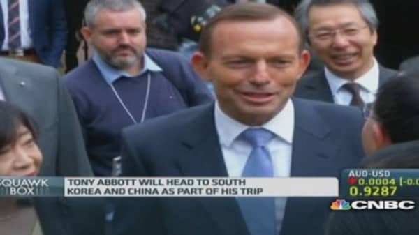 Japan, Australia to announce trade agreement