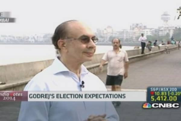 Godrej: BJP will be good for India's economy