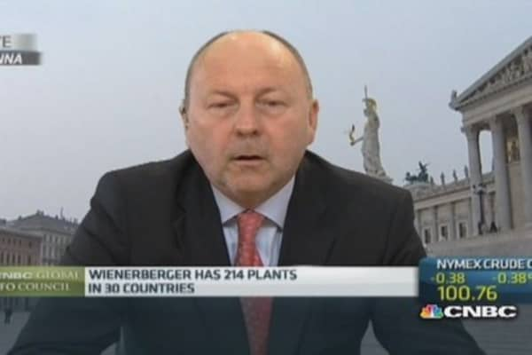Wienerberger eyeing 'bolt-on' acquisitions: CFO