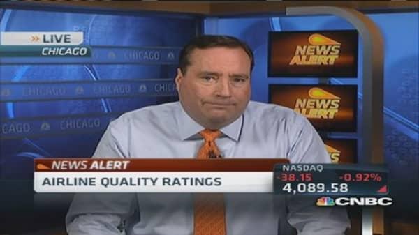 Virgin America tops airline quality list again