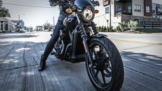 Harley-Davidson's Street motorcycle