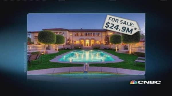 Top zip codes for mega-mansions