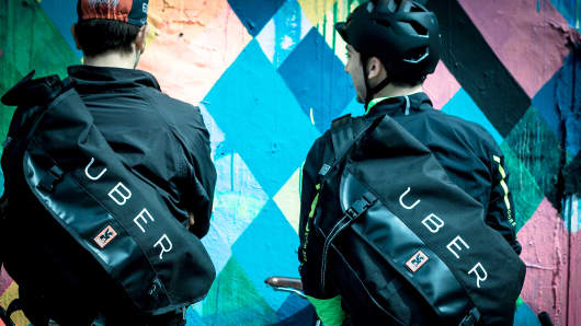 Uber to now offer courier services.