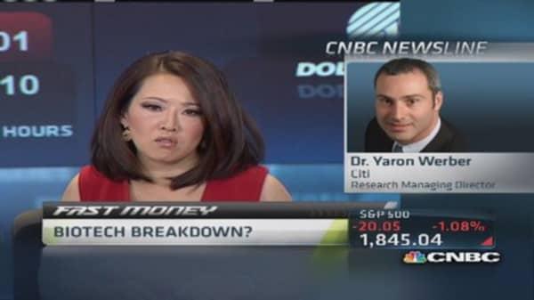 Biotech breakdown?