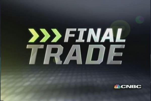 Fast Money Final Trade: BG, GOOG, GGP