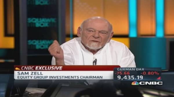 Sam Zell on 'carried interest' tax rates