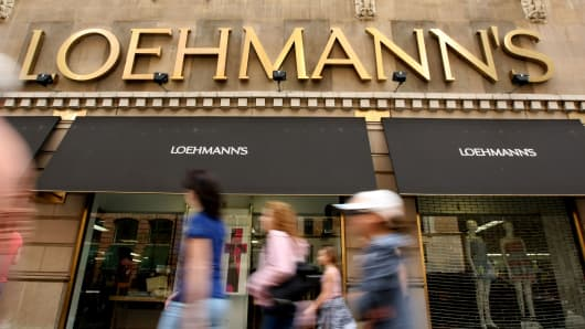 LOEHMANNS FINANCES