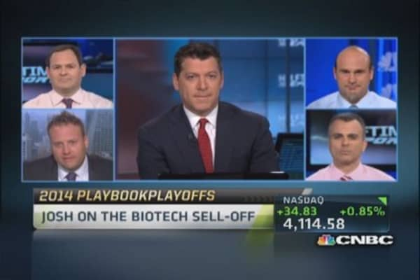 Biotech space due for short-term bounce: Trader