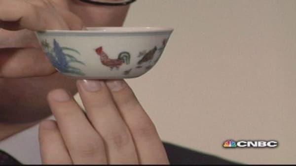 'Chicken cup' auction draws $36 million bid