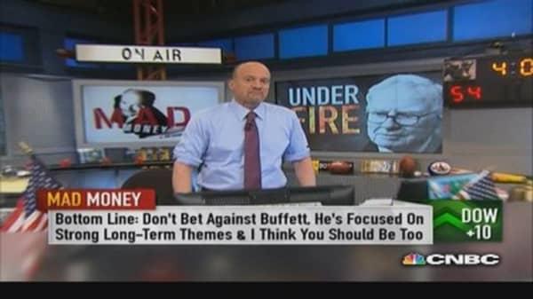 Cramer likes Buffett's holdings