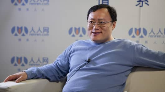 Joseph Chen, chief executive officer of Renren Inc