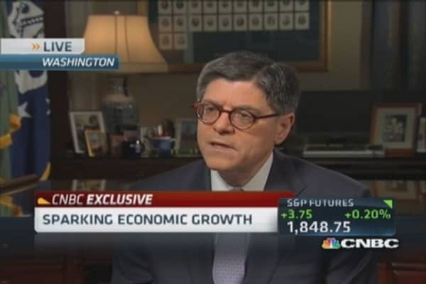 Lew: US leading global economic recovery