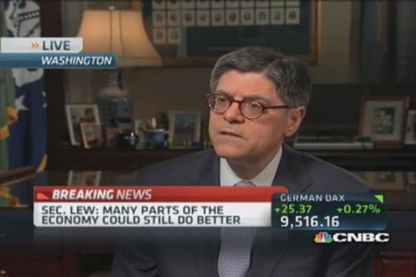 Infrastructure development keeps US competitive: Lew