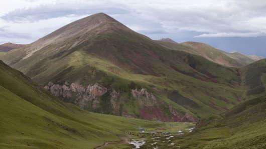 Tibetan Plateau, China.