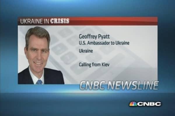 Attacks in Ukraine 'no coincidence'