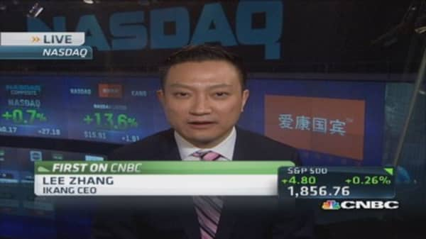 Nasdaq top choice for tech IPOs: IKang CEO
