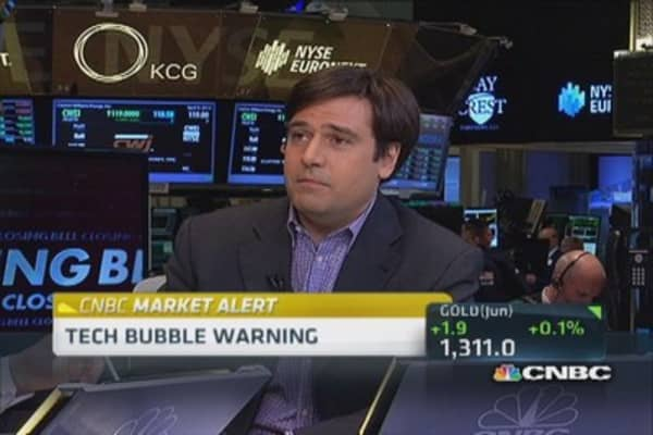 Tech bubble warning issued