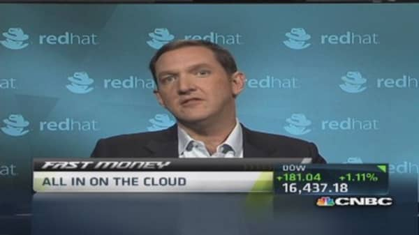 Cloud benefits from lower hardware prices: Red Hat CEO
