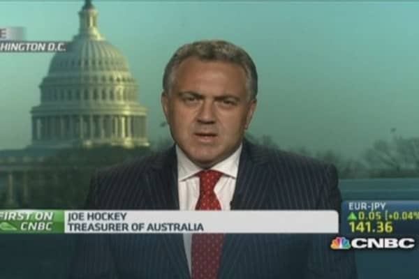 Australian Treasurer: Why China deserves credit