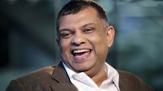 Tony Fernandes, chief executive officer of AirAsia