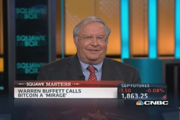 Buffett's 'logical flaw' on bitcoin: Miller
