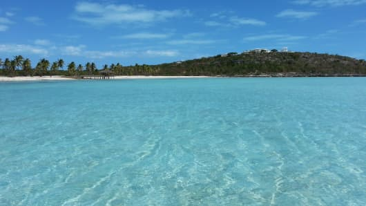 Innocence Island is the largest privately held island in the Bahamas.