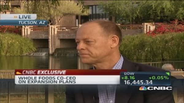 Tremendous growth & opportunity in organic space: WFM co-CEO