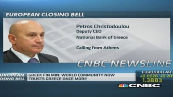 Greek debt: 'People needed good news'