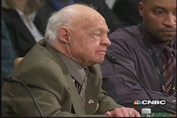 Mickey Rooney:  No one wanted to believe me